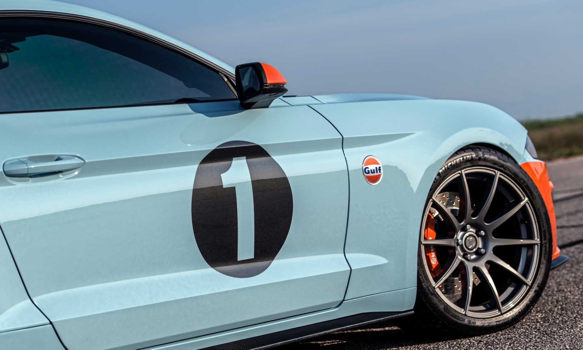 Тюнеры построили особый 800-сильный Ford Mustang Gulf Heritage Edition