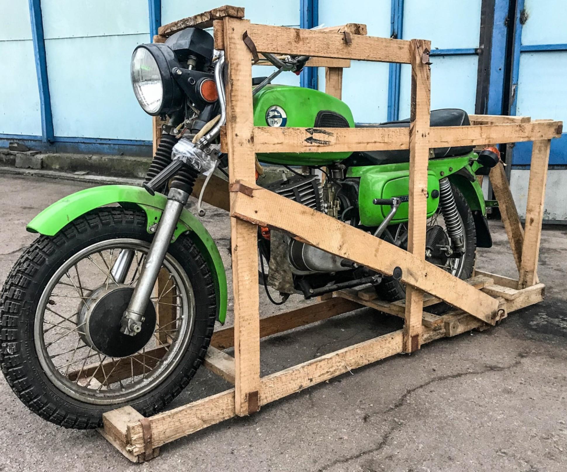 мотоцикл восход конвейер