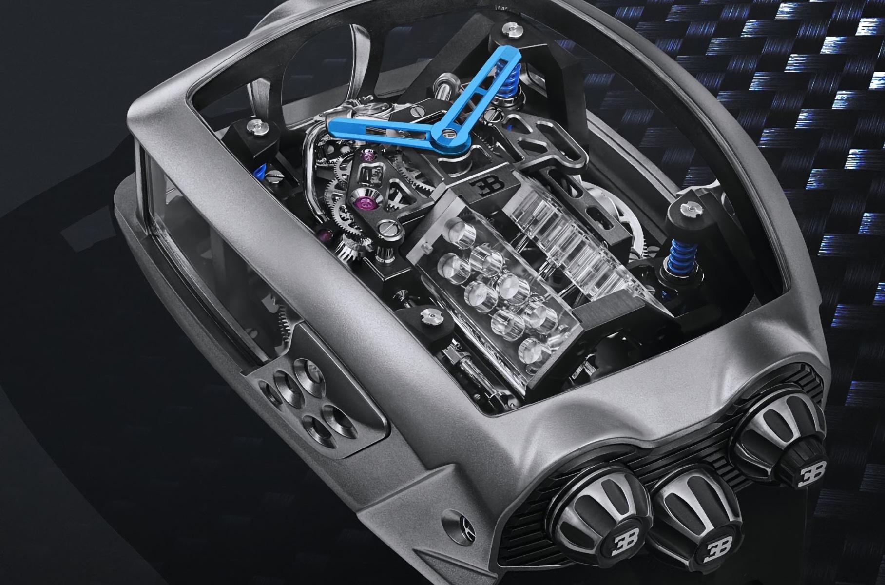 видео работы двигателя модели