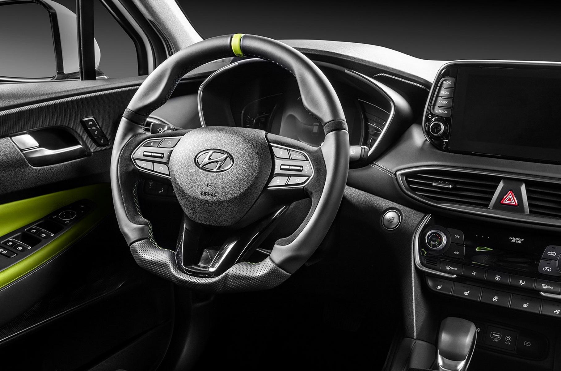 Для Hyundai Santa Fe подготовили дикий обвес в стиле туринговых болидов