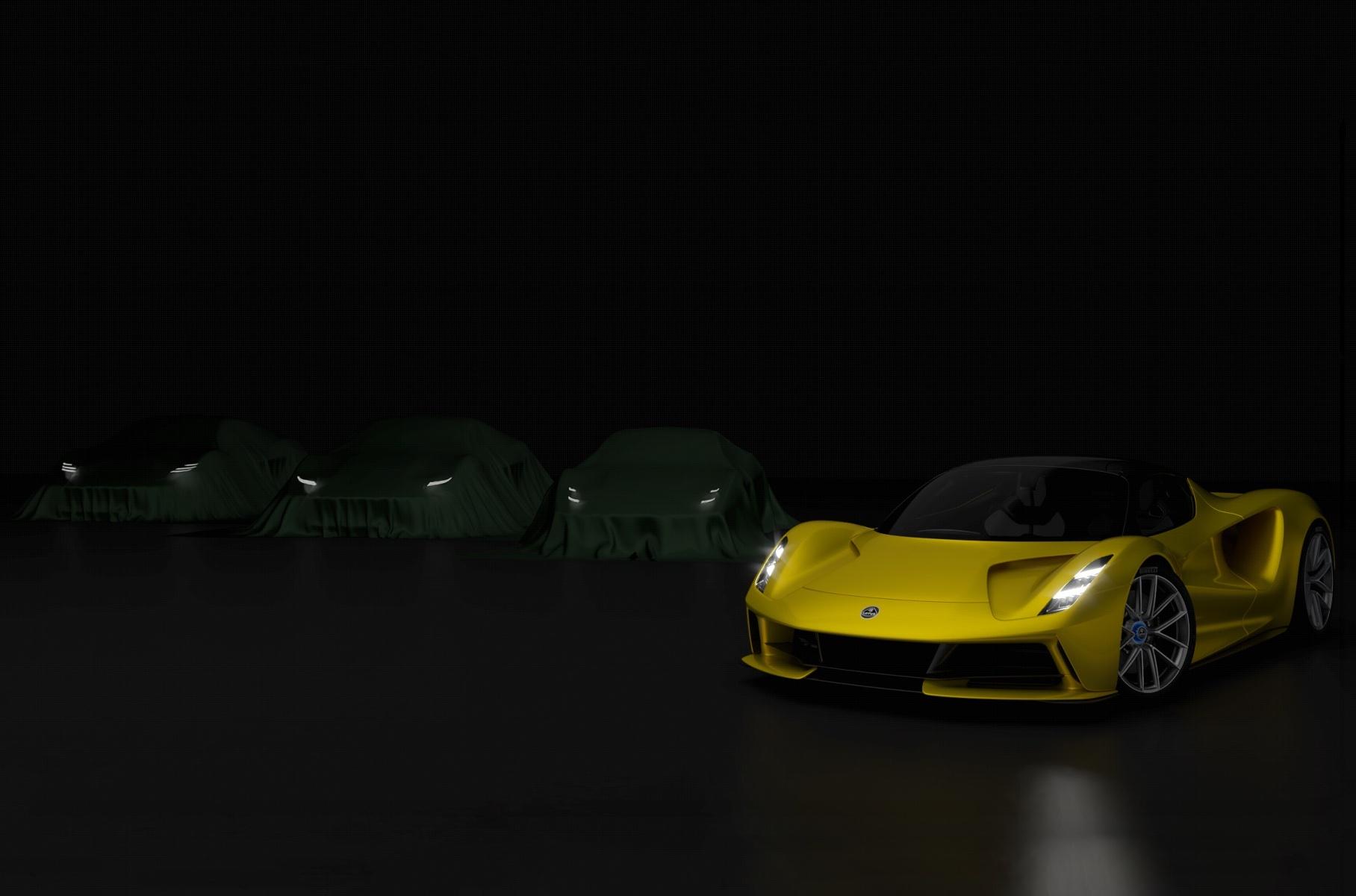 Lotus показал первое изображение нового спорткара