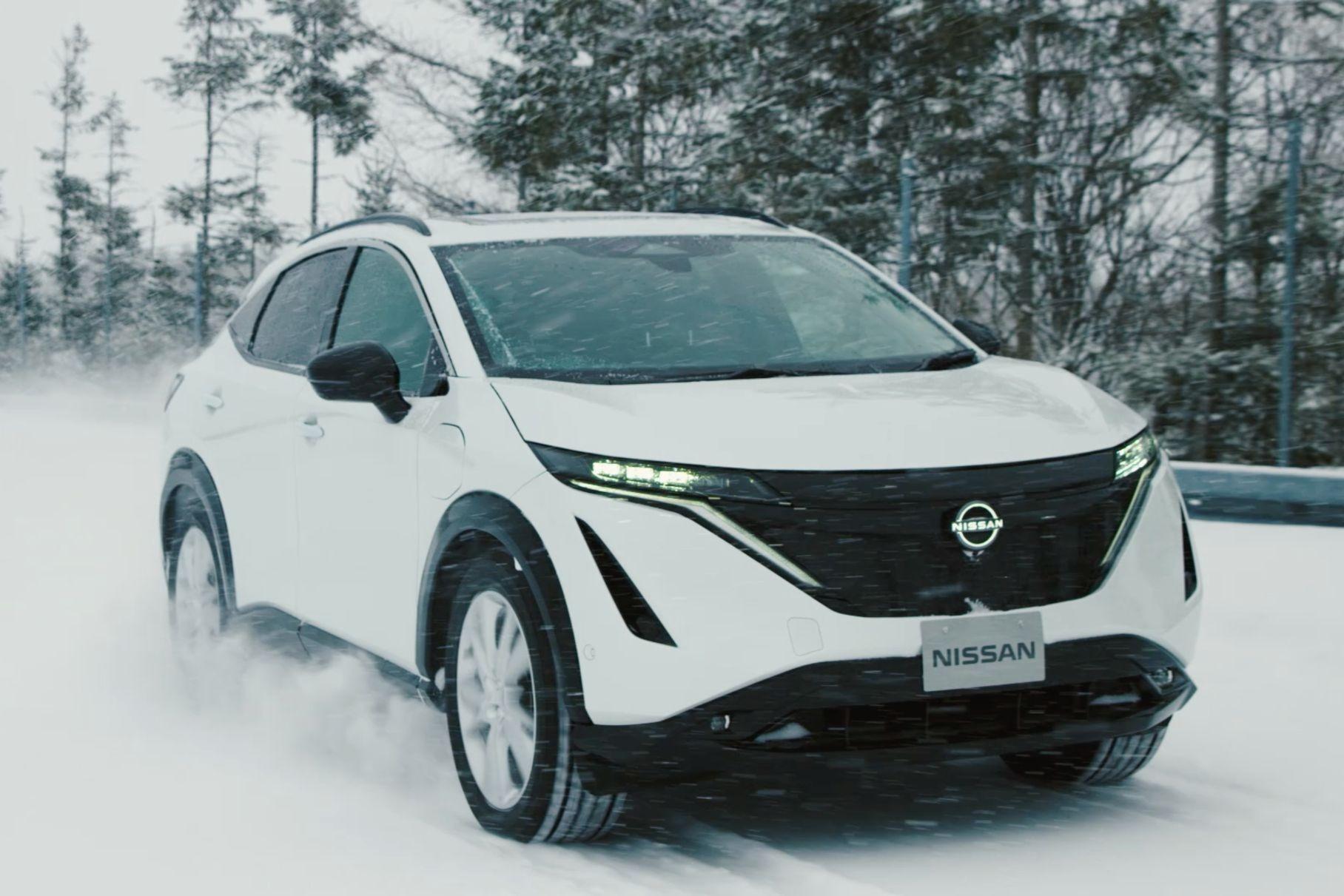 В Nissan рассказали, каким испытаниям подвергли электрокар Ariya