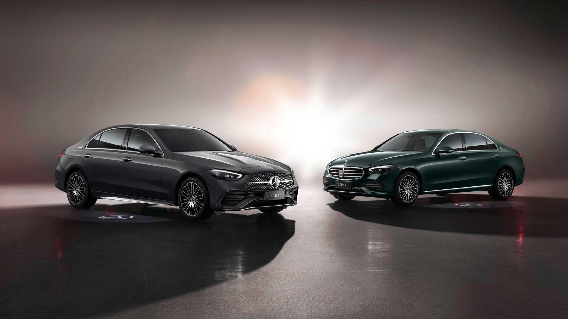 Mercedes-Benz представил удлинённую версию нового C-Class