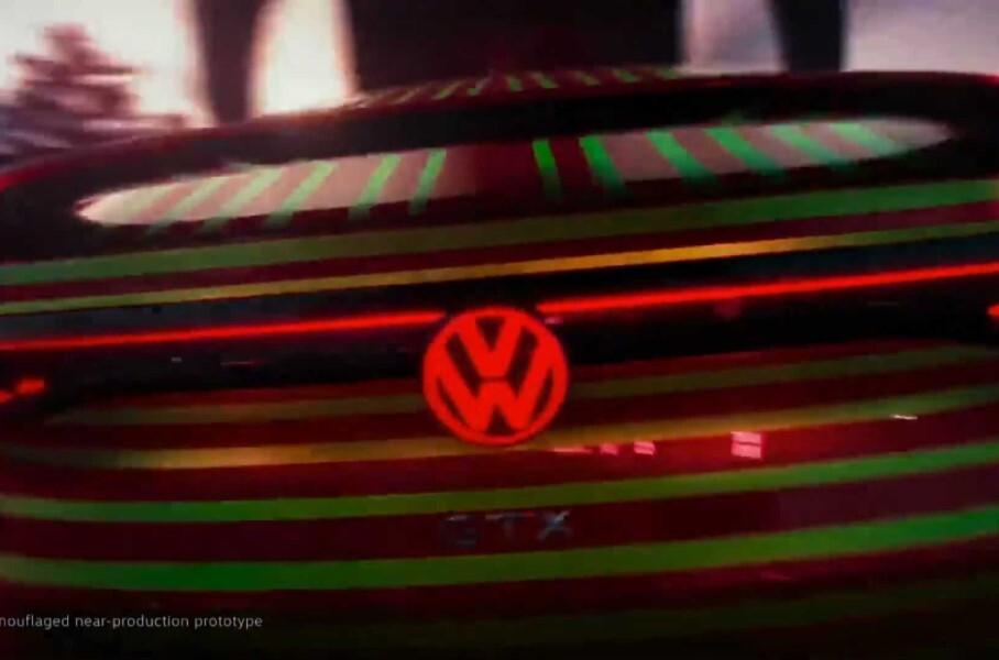 Volkswagen показал на видео новый электрокар ID.5