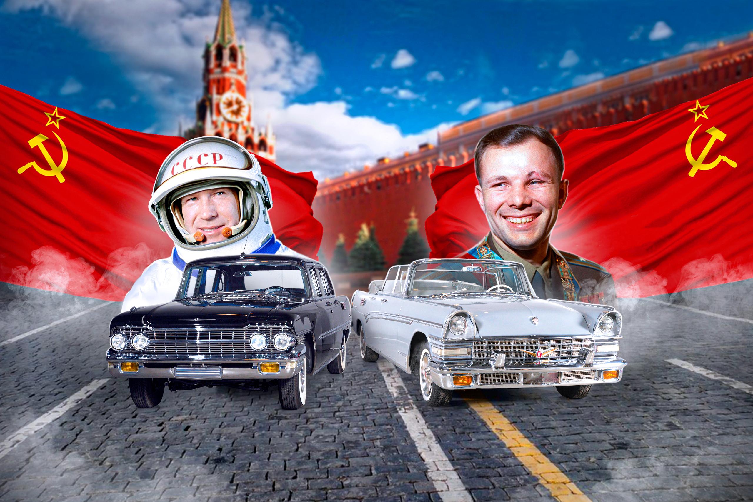 Они возили Гагарина: лимузины для космонавтов