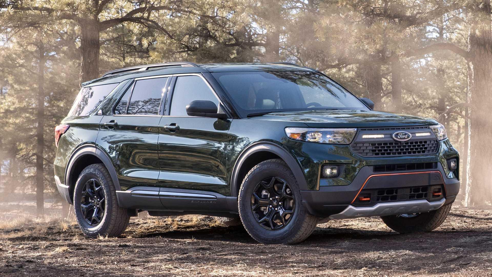 Ford подготовил кроссовер Explorer к серьёзному бездорожью