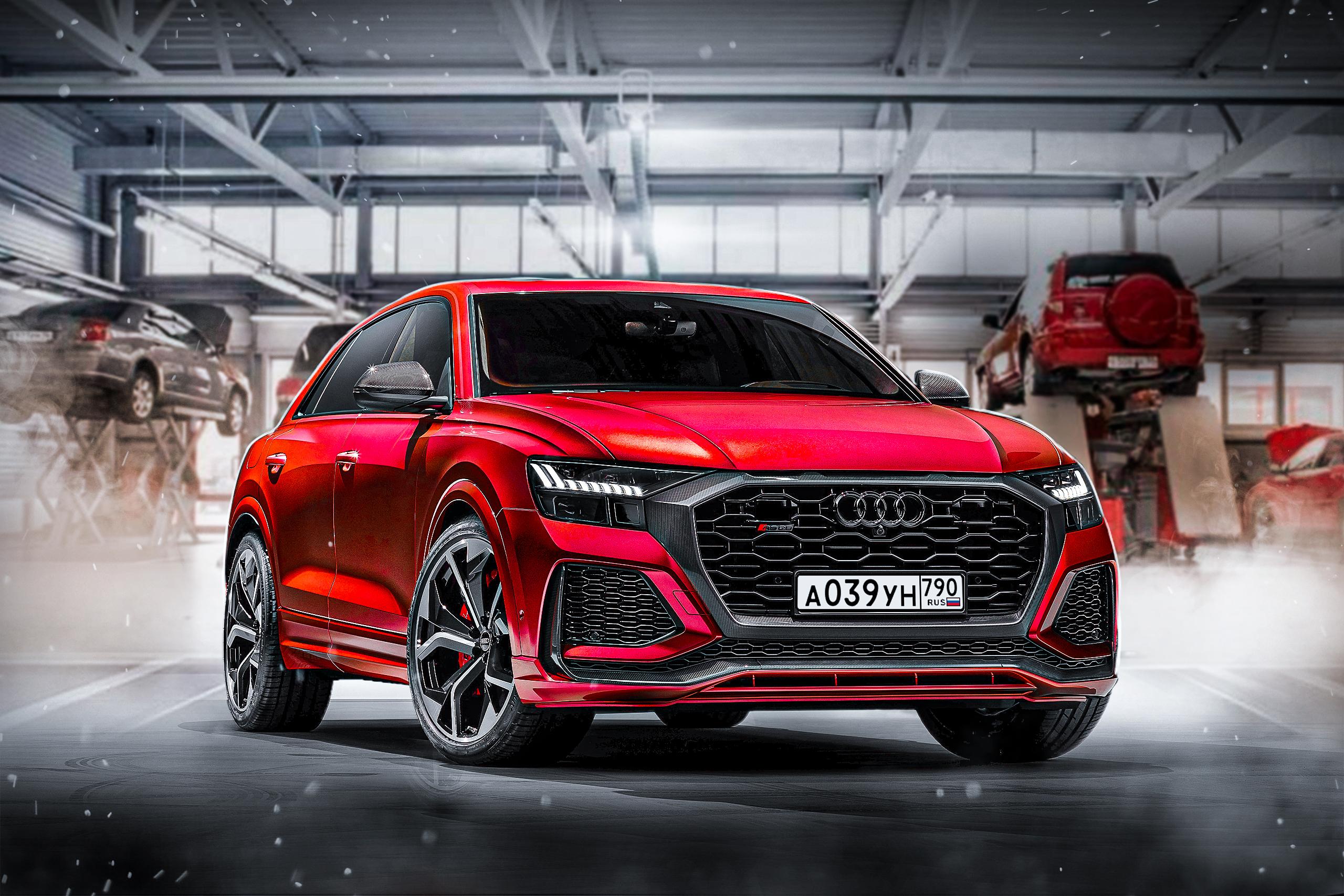 Видео: Audi RS Q8