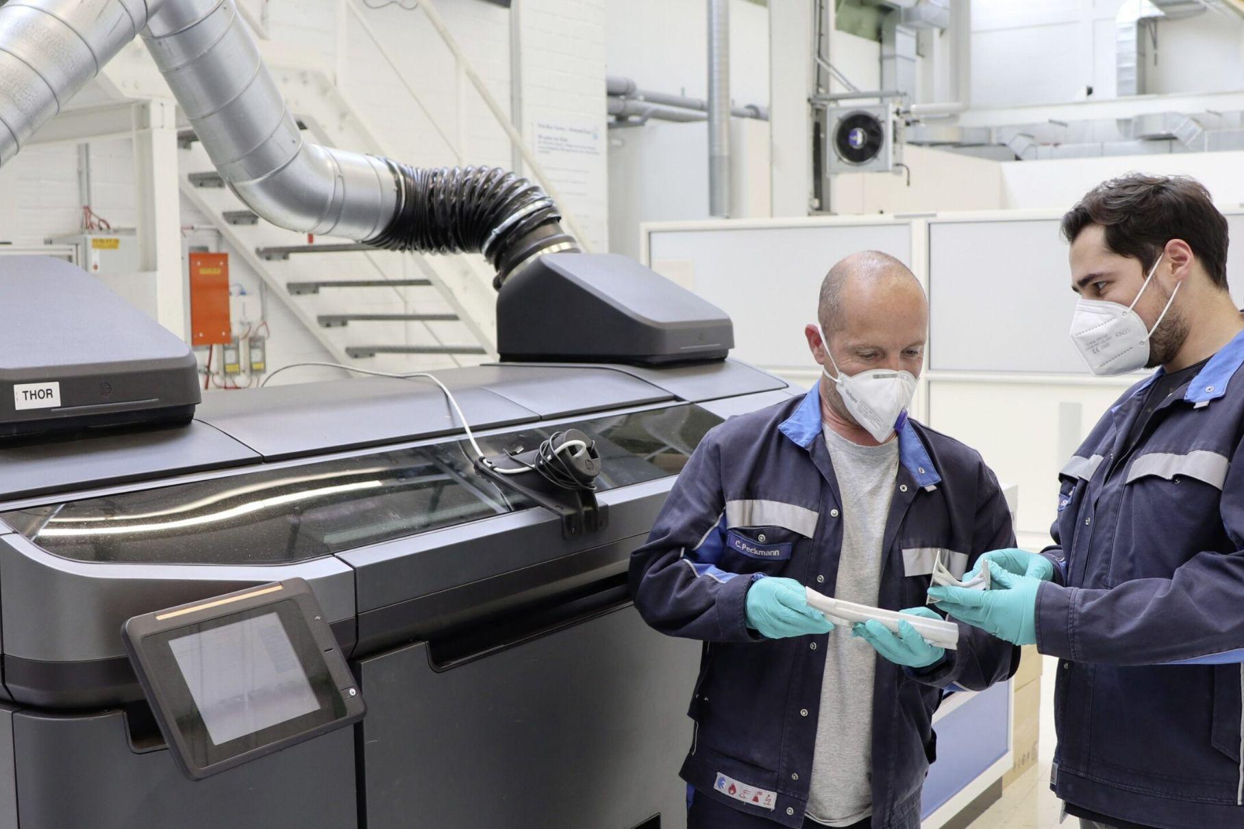 Volkswagen будет печатать детали на 3D-принтере по-новому