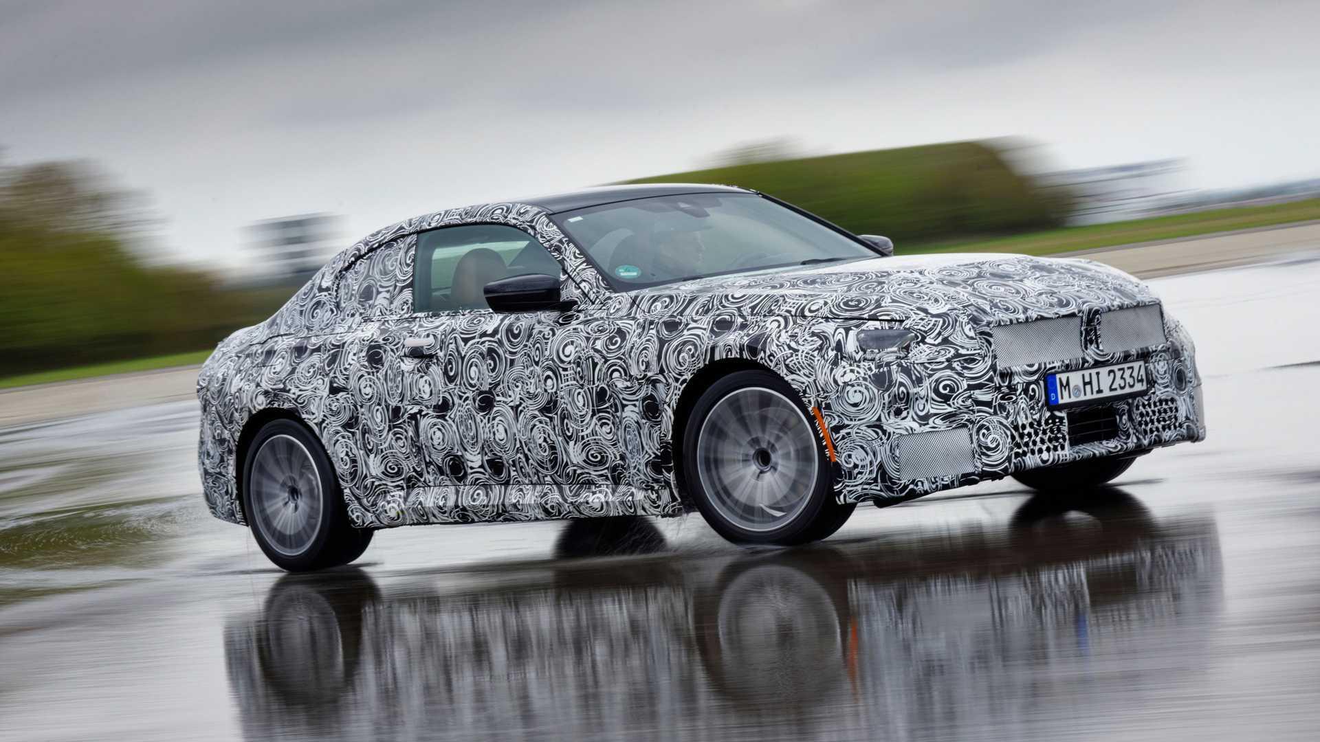 Стала известна дата премьеры нового купе BMW 2-Series