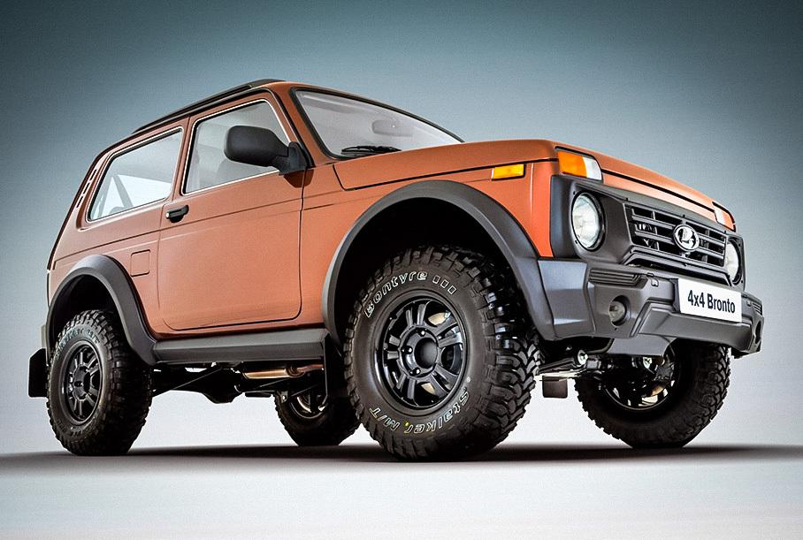АвтоВАЗ рассказал, когда в России появится обновлённая Lada Niva Bronto