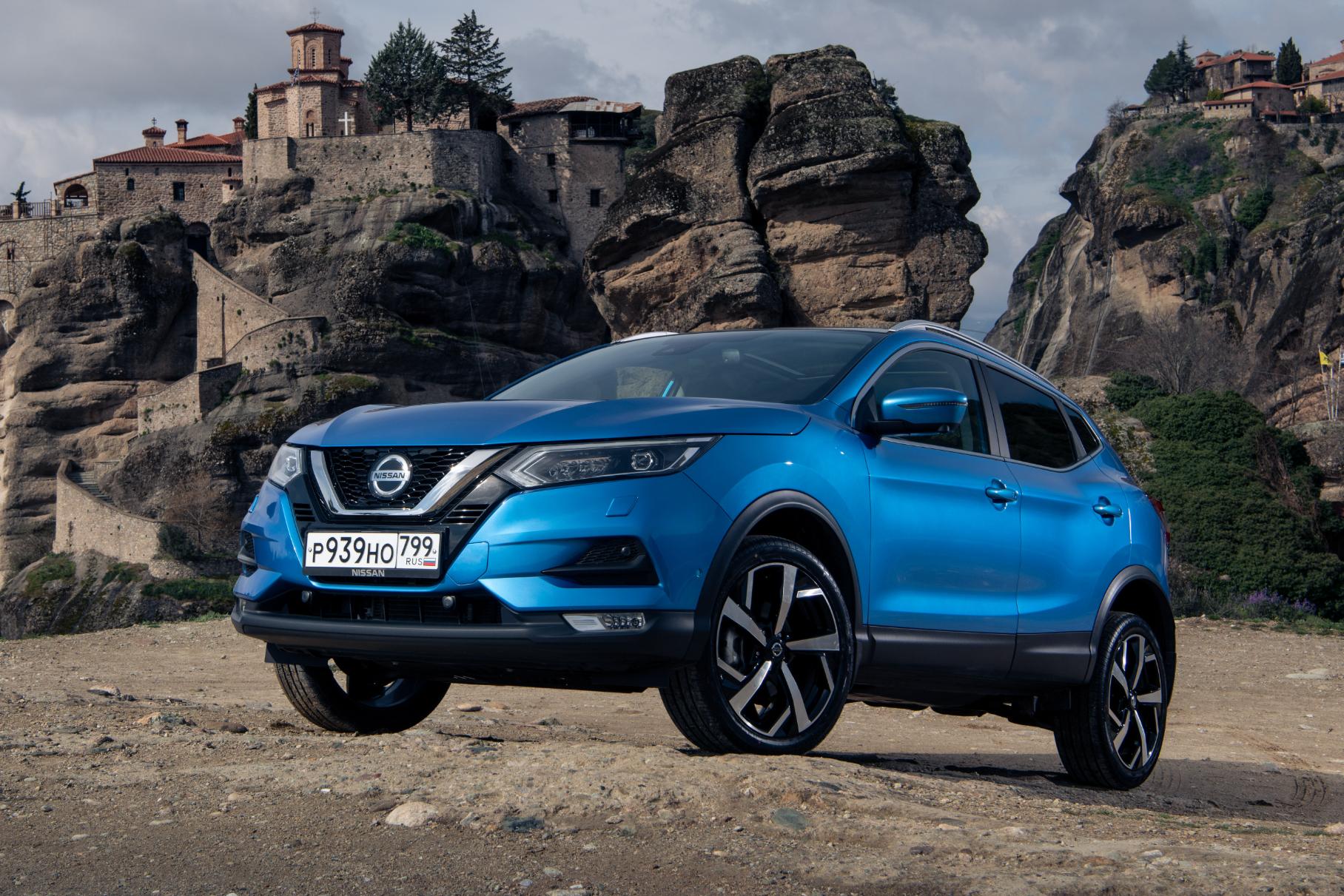 В России выросла цена кроссовера-бестселлера Nissan