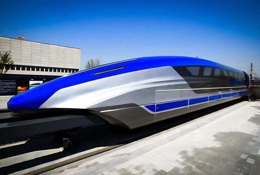 Китайцы создали быстрейший наземный транспорт в мире