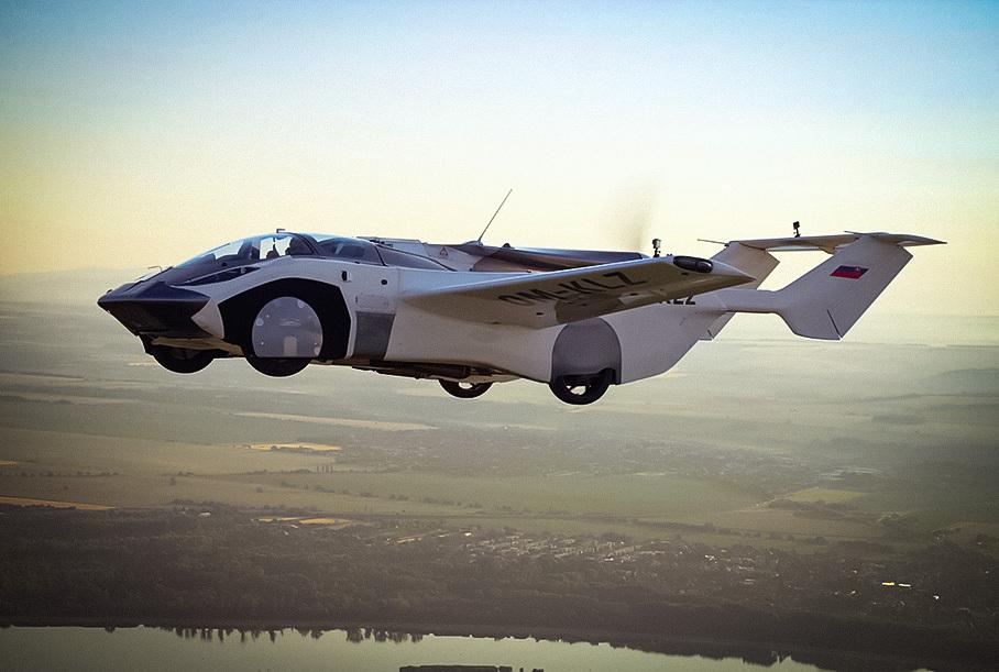 Сколько будут стоить летающие машины: прогноз экспертов