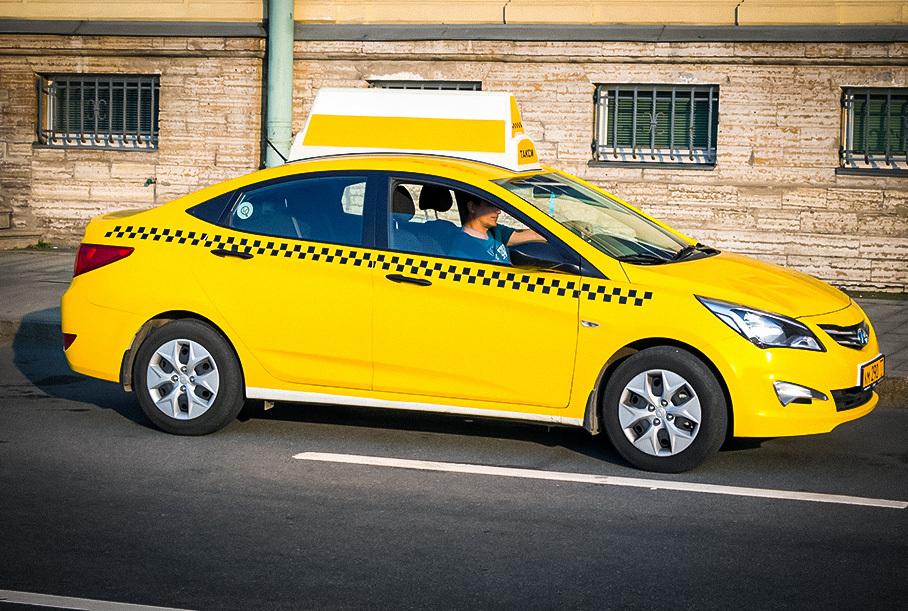 Российским водителям такси и автобусов будут удаленно измерять пульс и температуру
