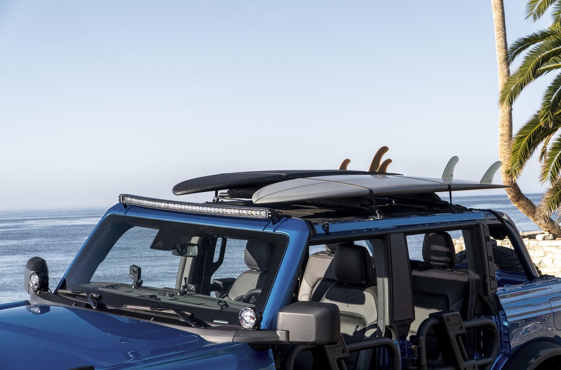 Новый Ford Bronco получил пляжную версию  но купить её нельзя