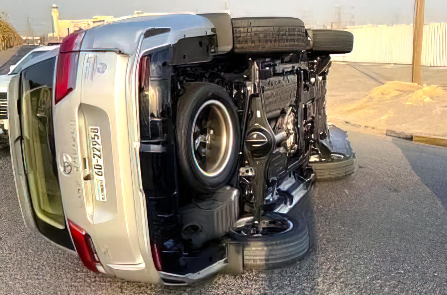 Ещё один новый Toyota Land Cruiser попал в серьезное ДТП сразу после покупки