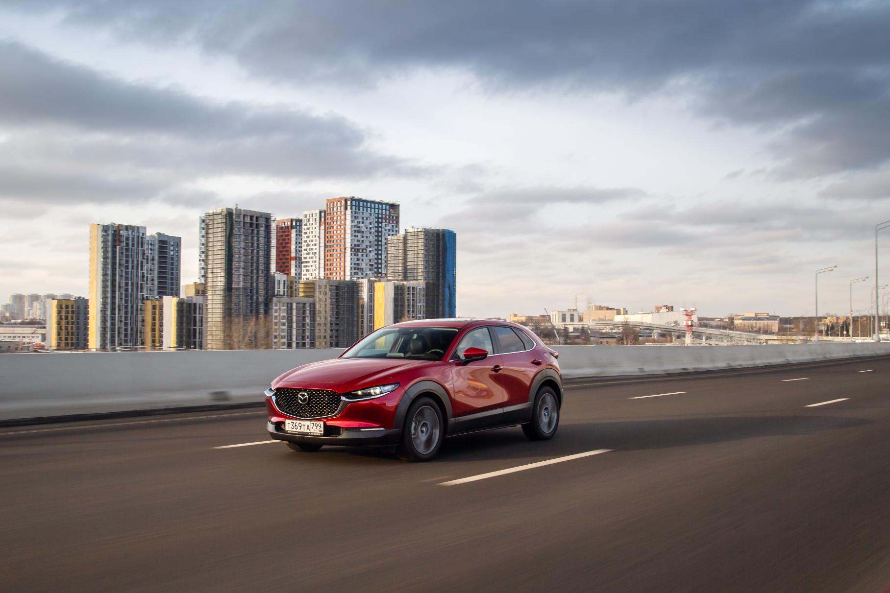 Mazda сворачивает продажи CX-30 в России