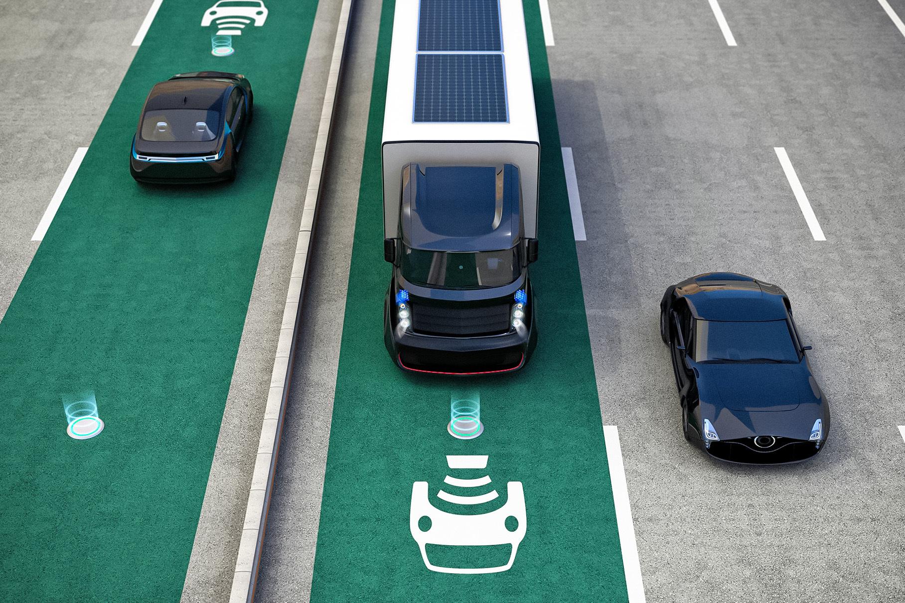 В США построят дорогу, которая будет заряжать электромобили во время движения