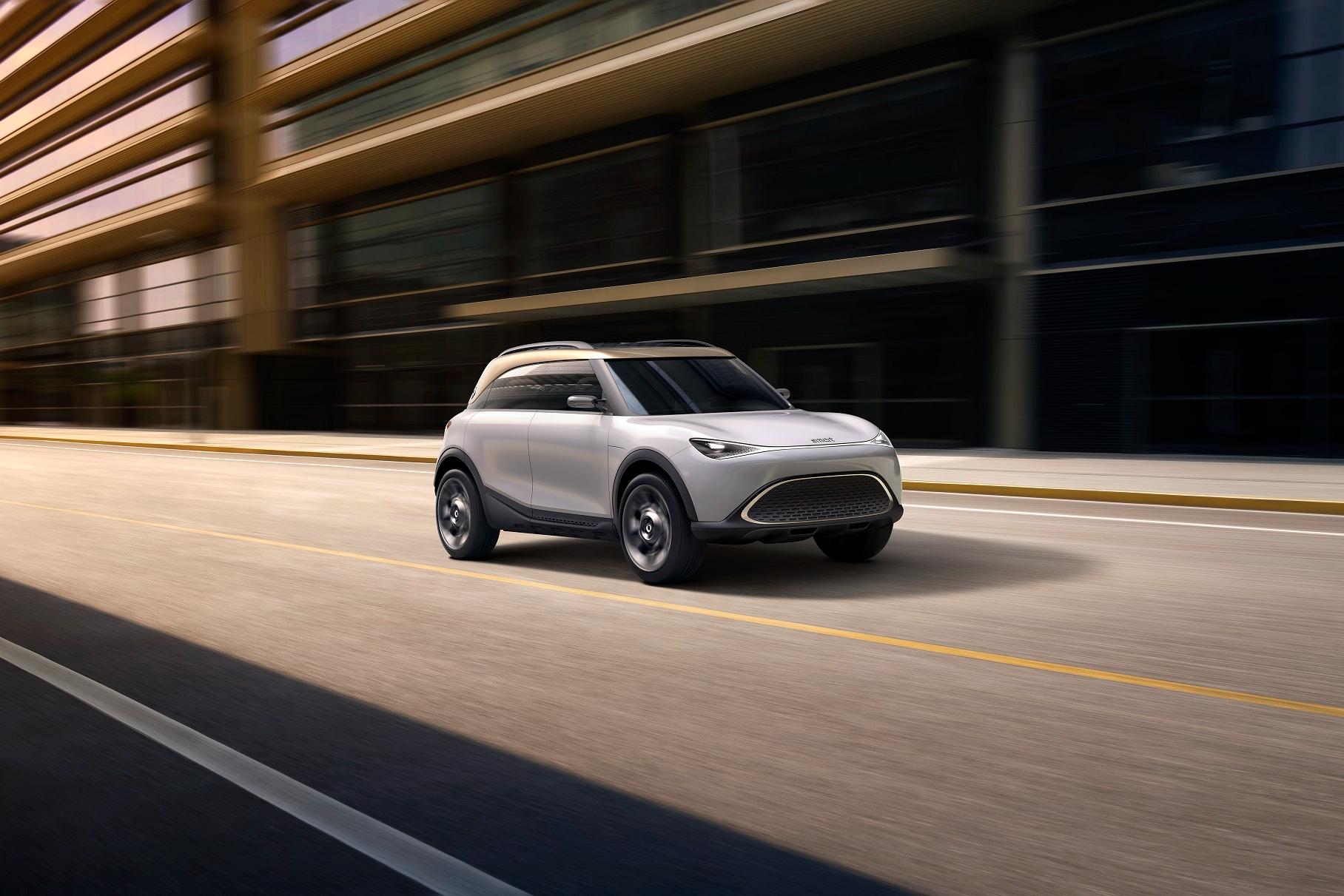 Smart готовится к запуску своего самого большого автомобиля за пределами Китая