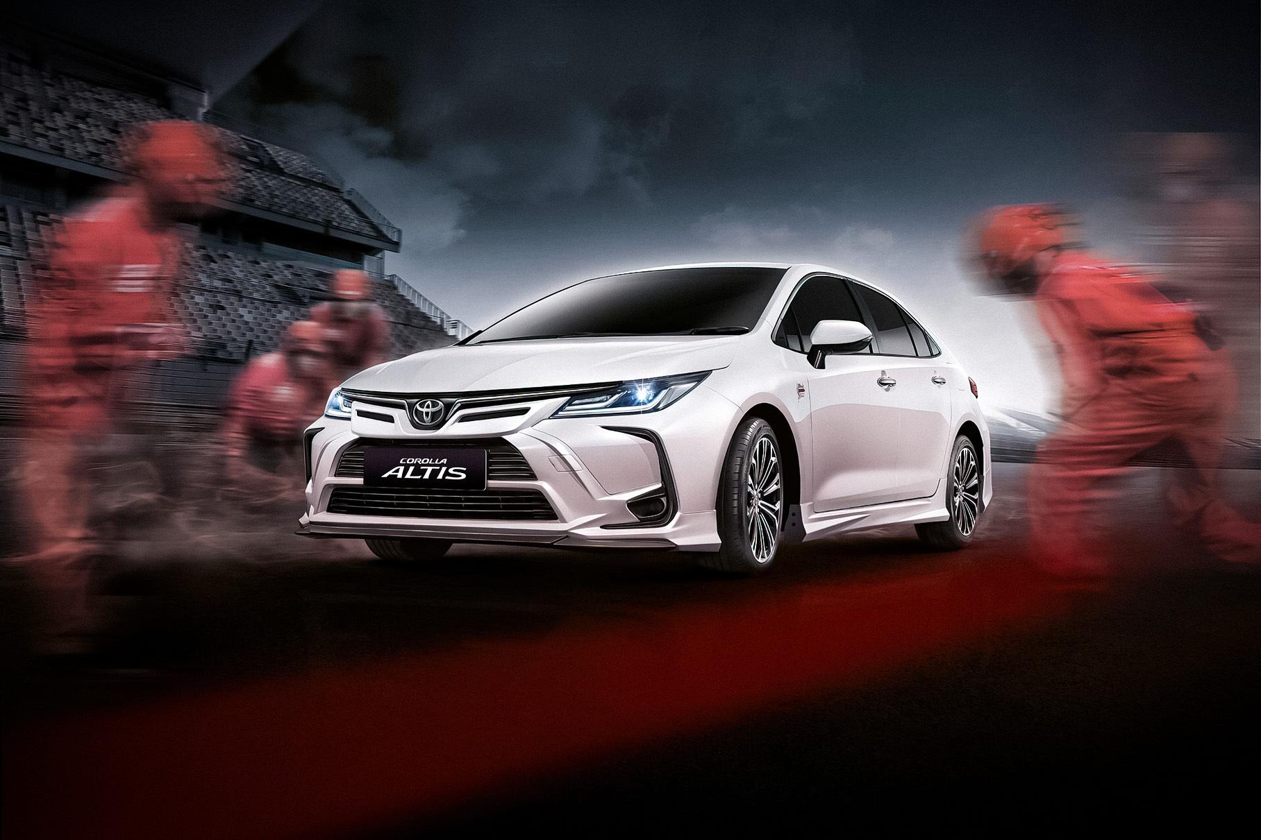 Новую спецверсию Toyota Corolla посвятили знаменитой гоночной трассе