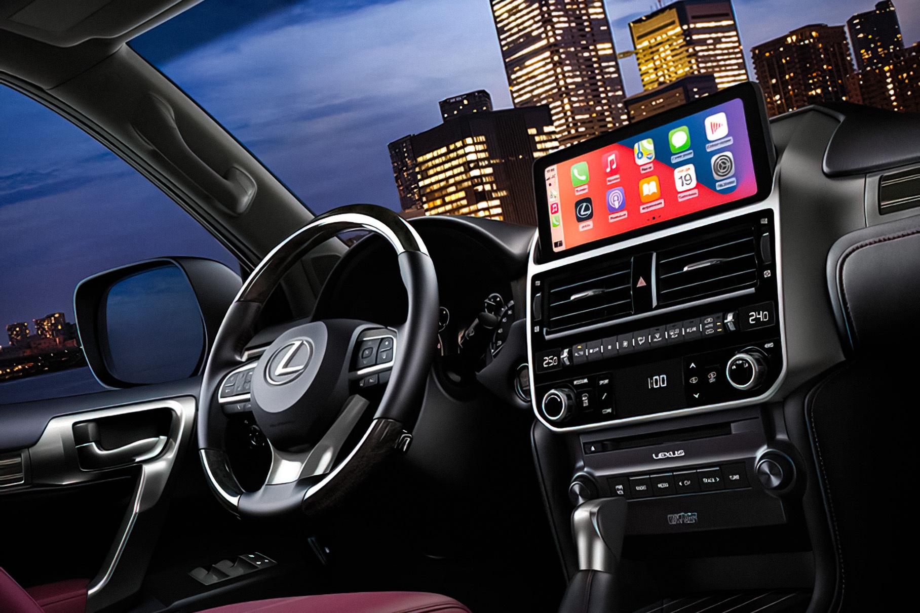 В России начались продажи Lexus GX с новой мультимедийной системой