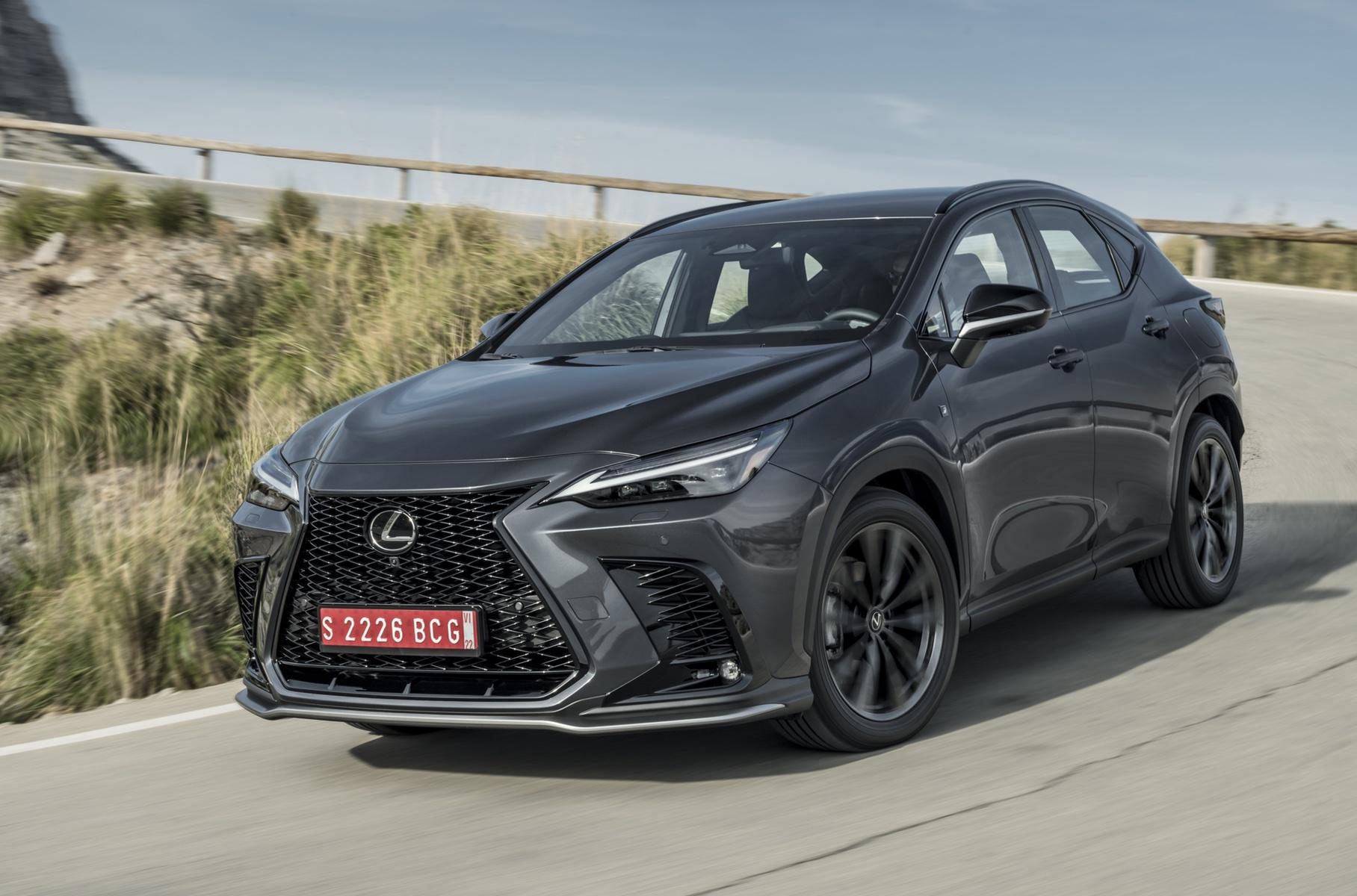Раскрыты подробности комплектаций нового Lexus NX для России
