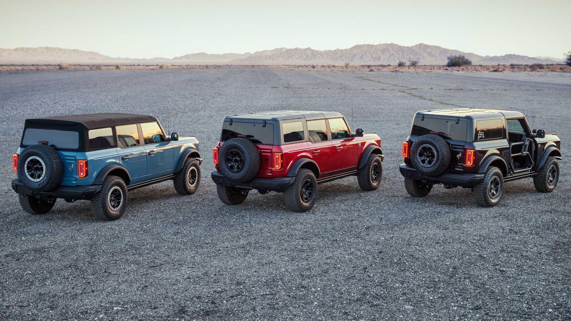 Ford уже готовит рестайлинг внедорожника Bronco