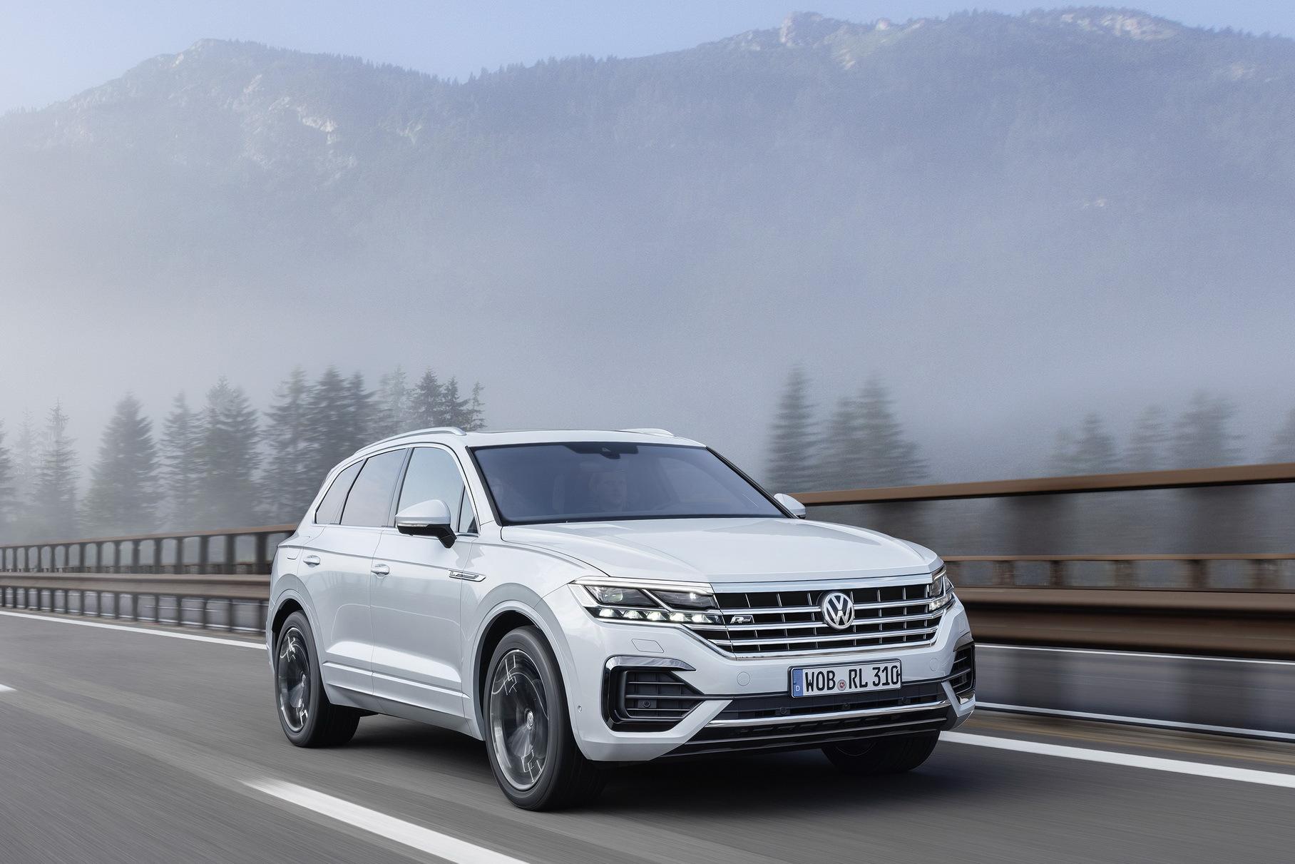 В России отзывают новые Volkswagen Touareg из-за проблем с подвеской