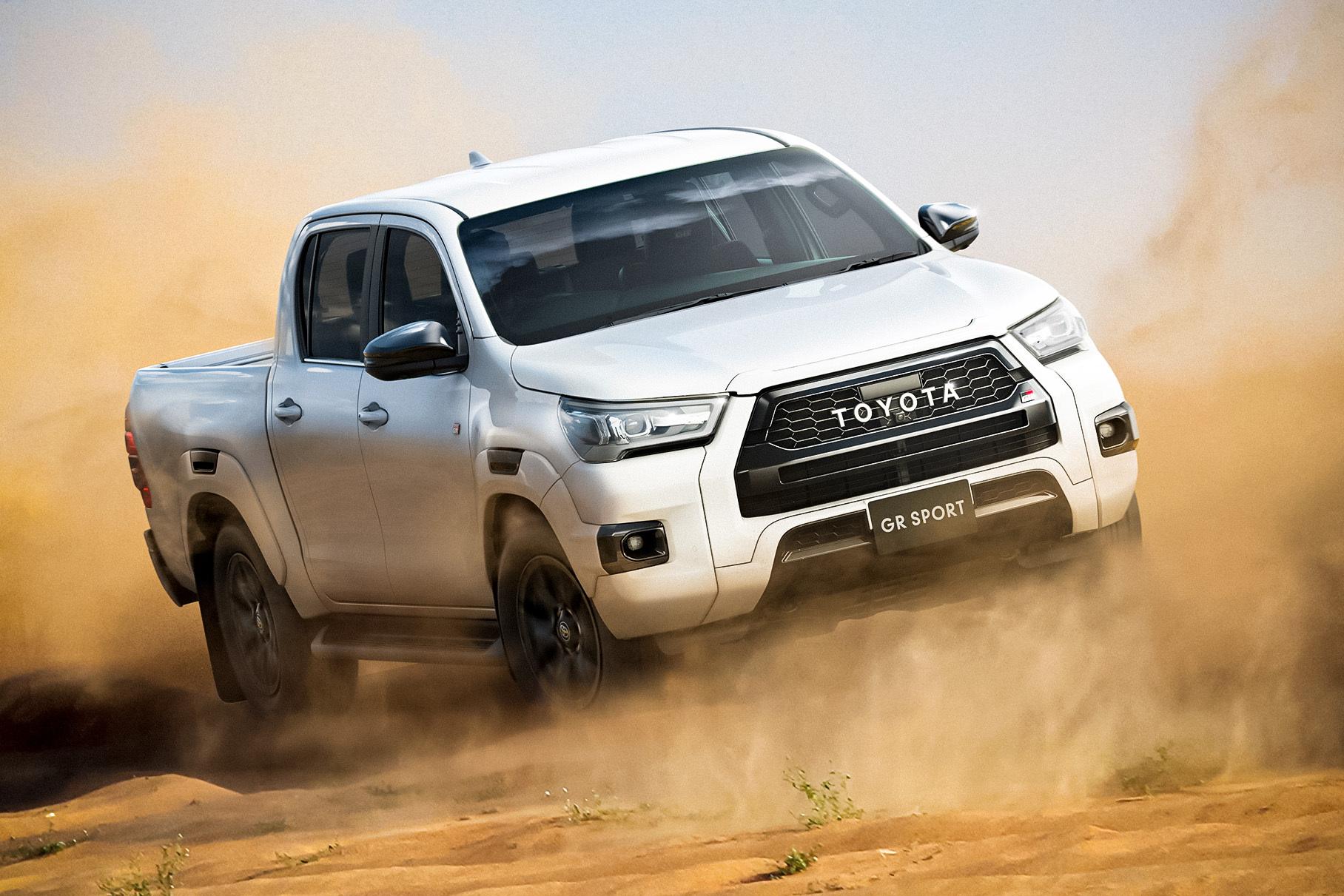 Toyota раскрыла подробности о «заряженном» Hilux GR Sport