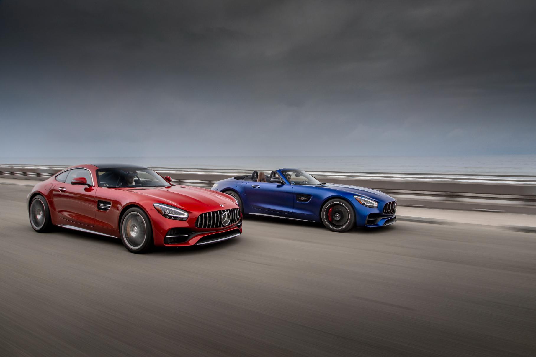 Купе и родстер Mercedes-AMG GT отправляют в отставку