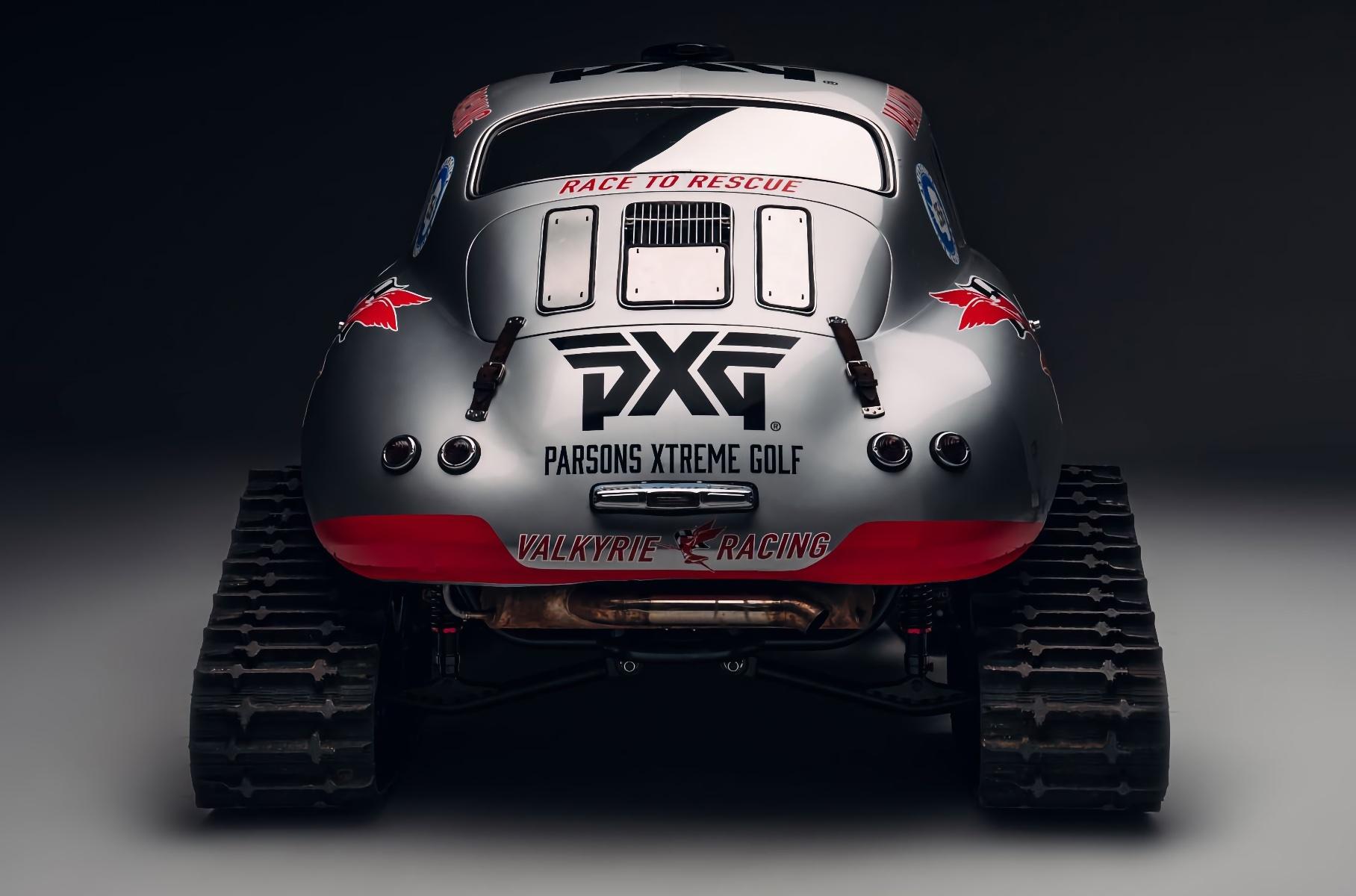 Посмотрите на классический Porsche в роли вездехода для полярников