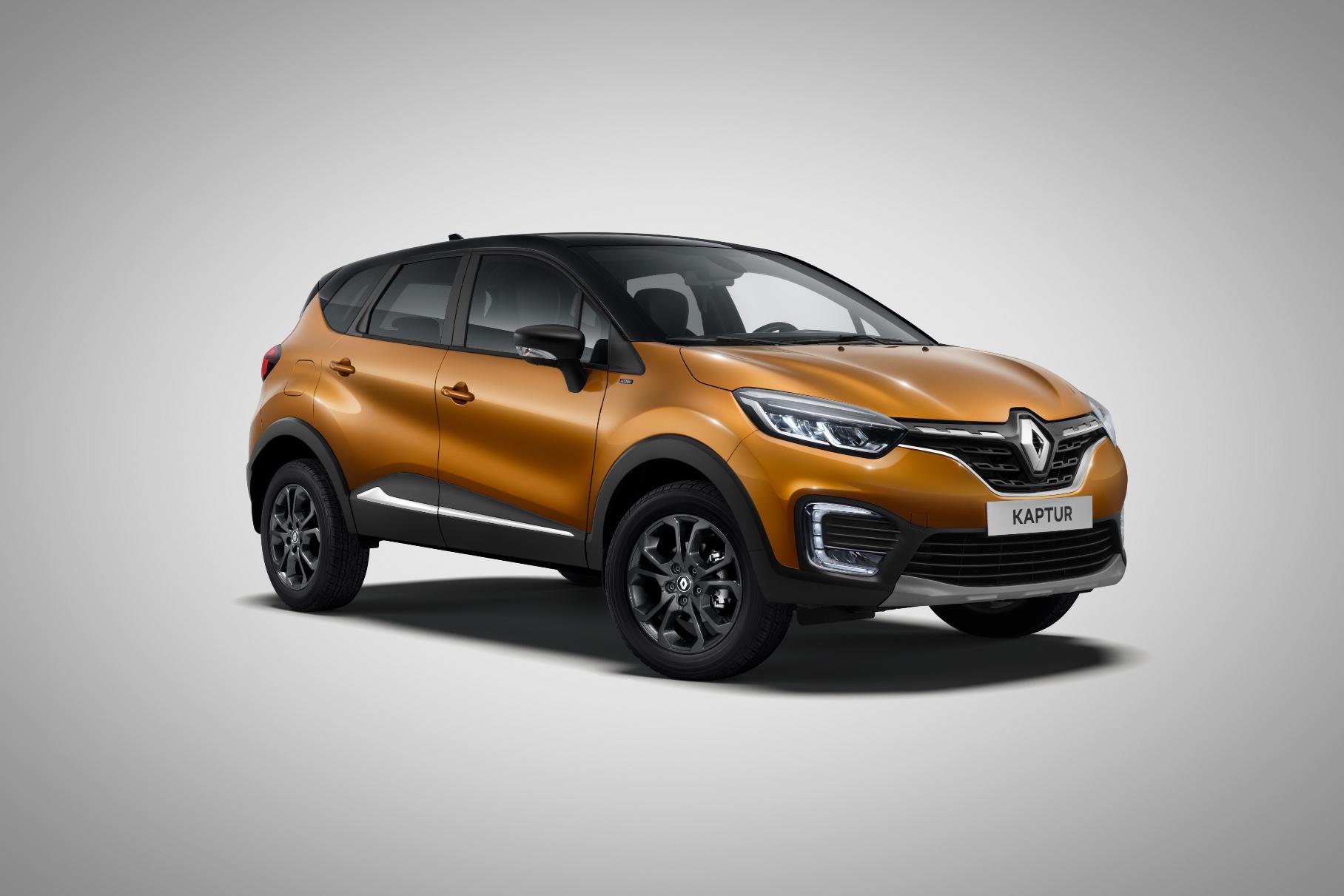 У российского Renault Kaptur появится двухцветная спецверсия