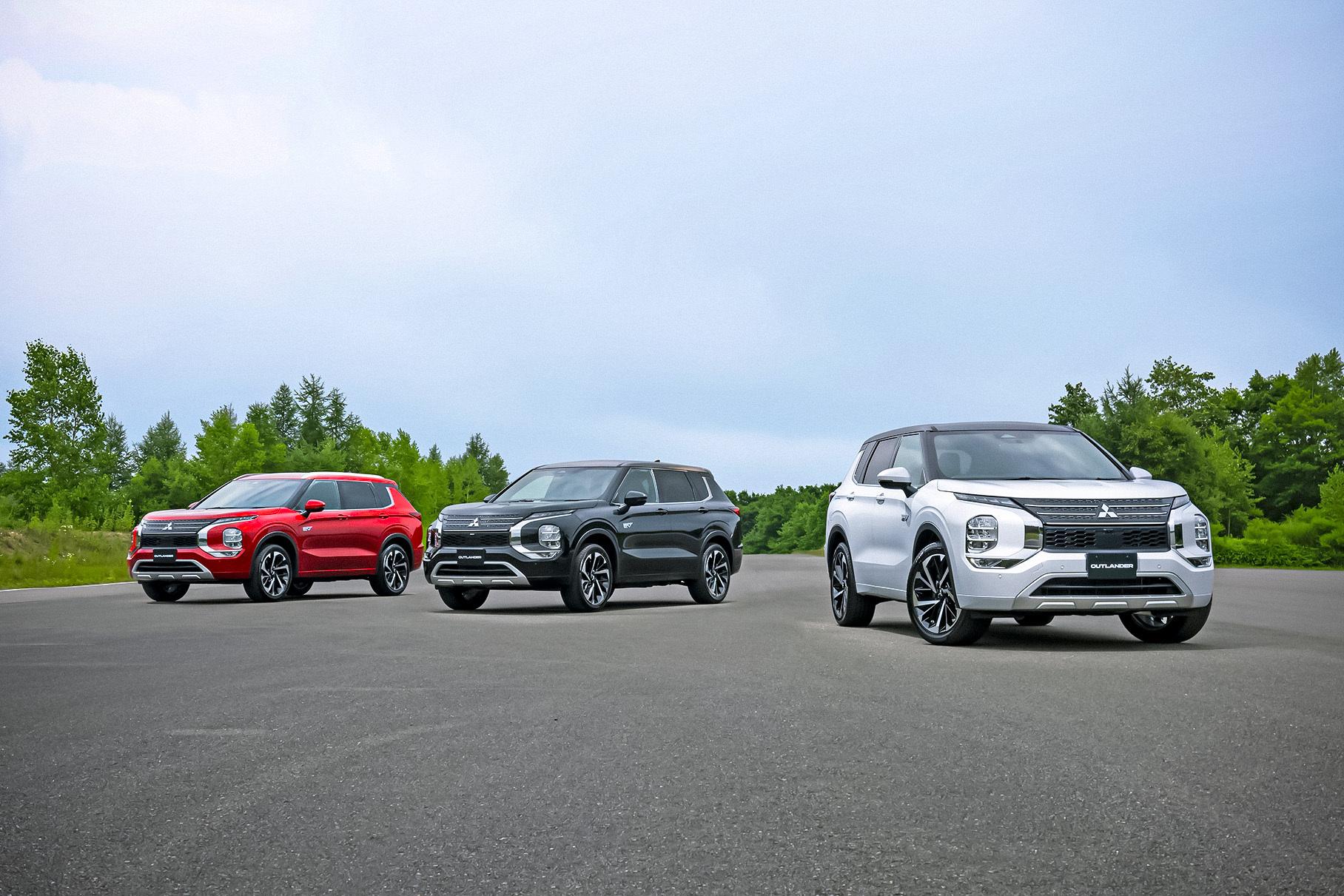 Mitsubishi показала гибридный Outlander PHEV нового поколения