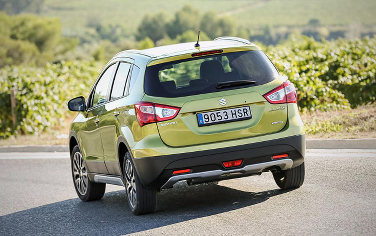 Объявлены российские цены на новый Suzuki SX4
