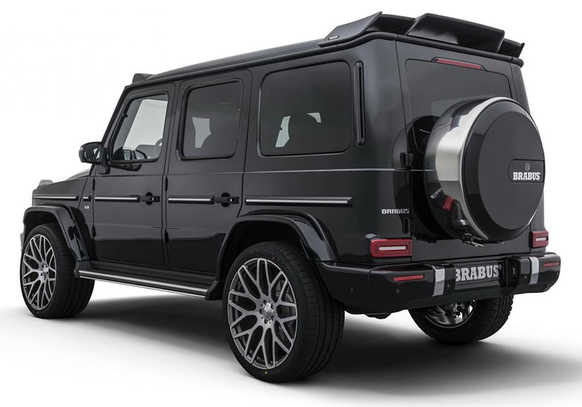 Mercedes g wagon brabus