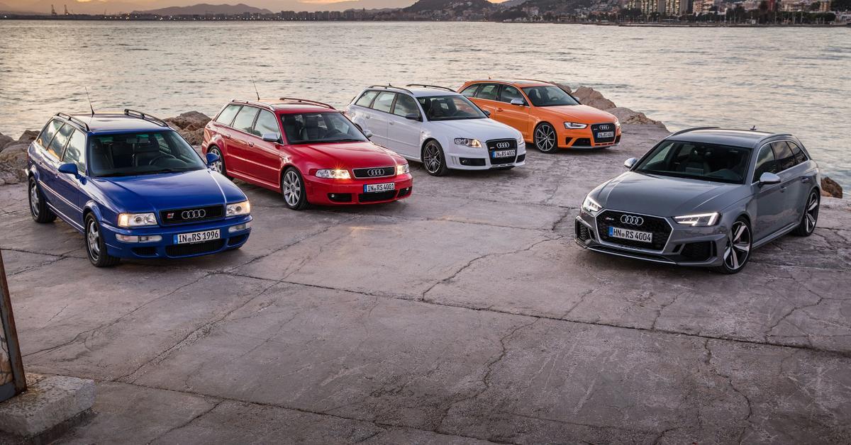 Дюжина крутых универсалов Audi, к которым нельзя относиться равнодушно