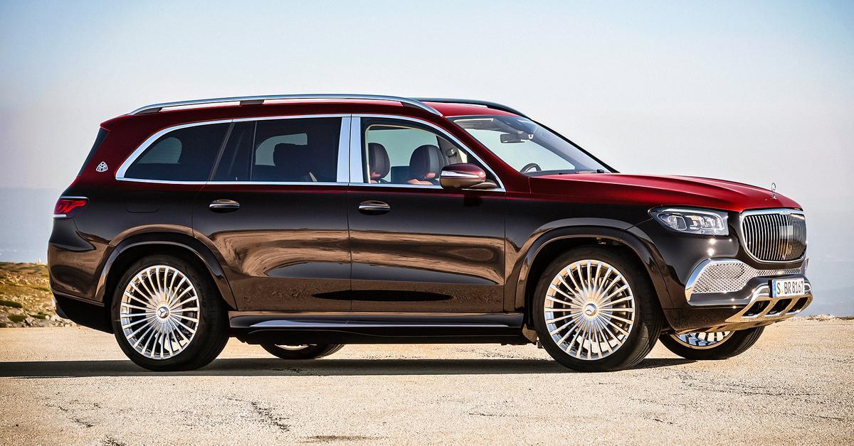 Раскрыта рублевая цена Mercedes-Maybach GLS