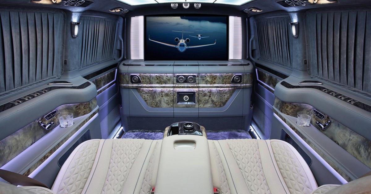 Сделано в России: минивэн Mercedes за 22 миллиона