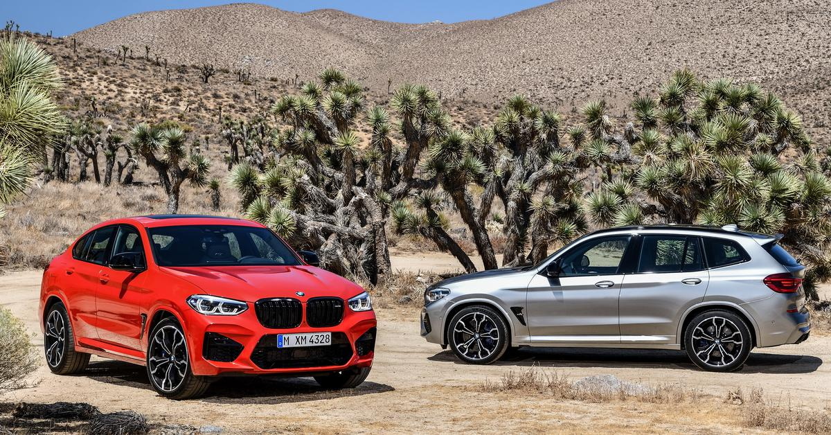 BMW озвучила дату начала продаж кроссоверов X3 M и X4 M в России