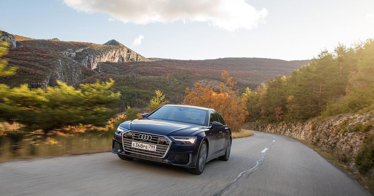 Хватает ли Audi A6 четырех цилиндров?
