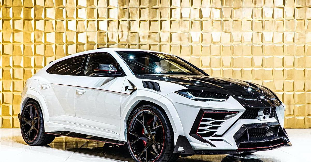 Lamborghini Urus с эпатажным обвесом продают за полмиллиона долларов