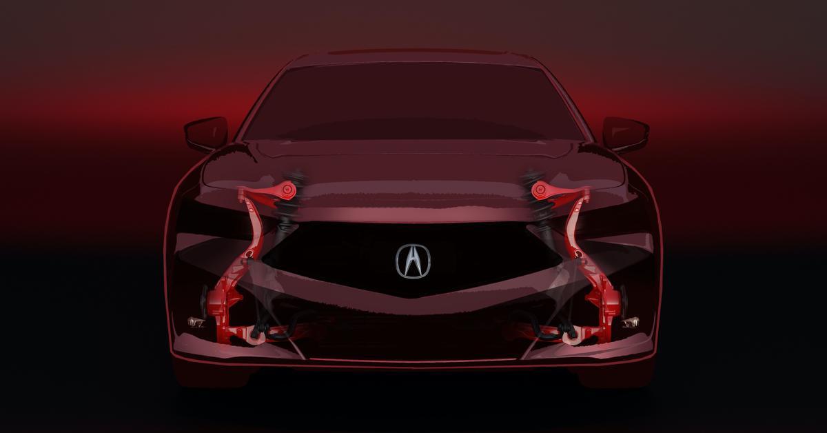 Новые подробности Acura TLX второго поколения