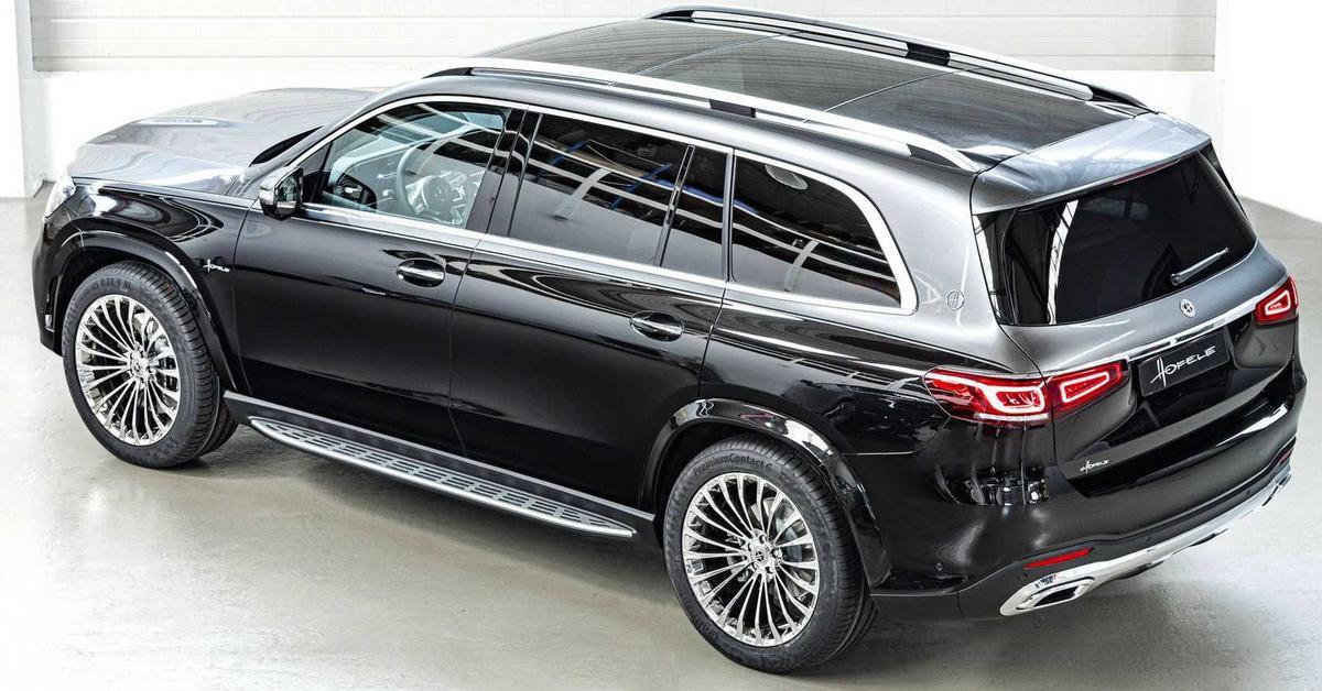 Из дизельного Mercedes-Benz GLS сделали альтернативу «Майбаху»