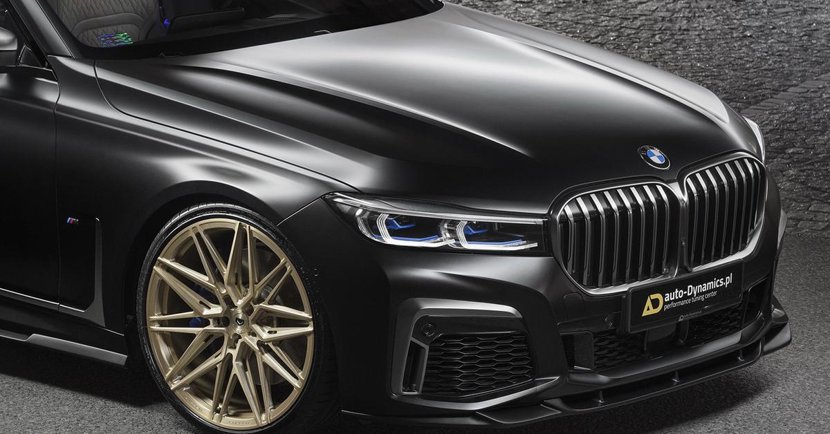 Российская тюнинг-мастерская разработала обвес для BMW M760Li