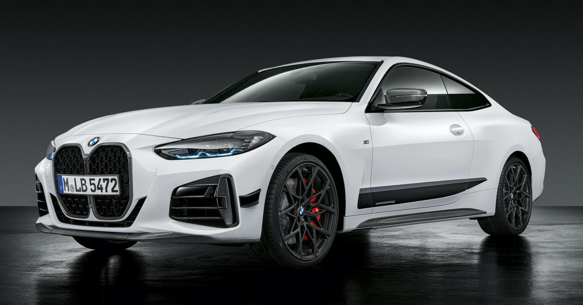 BMW украсила новую «четверку М-деталями
