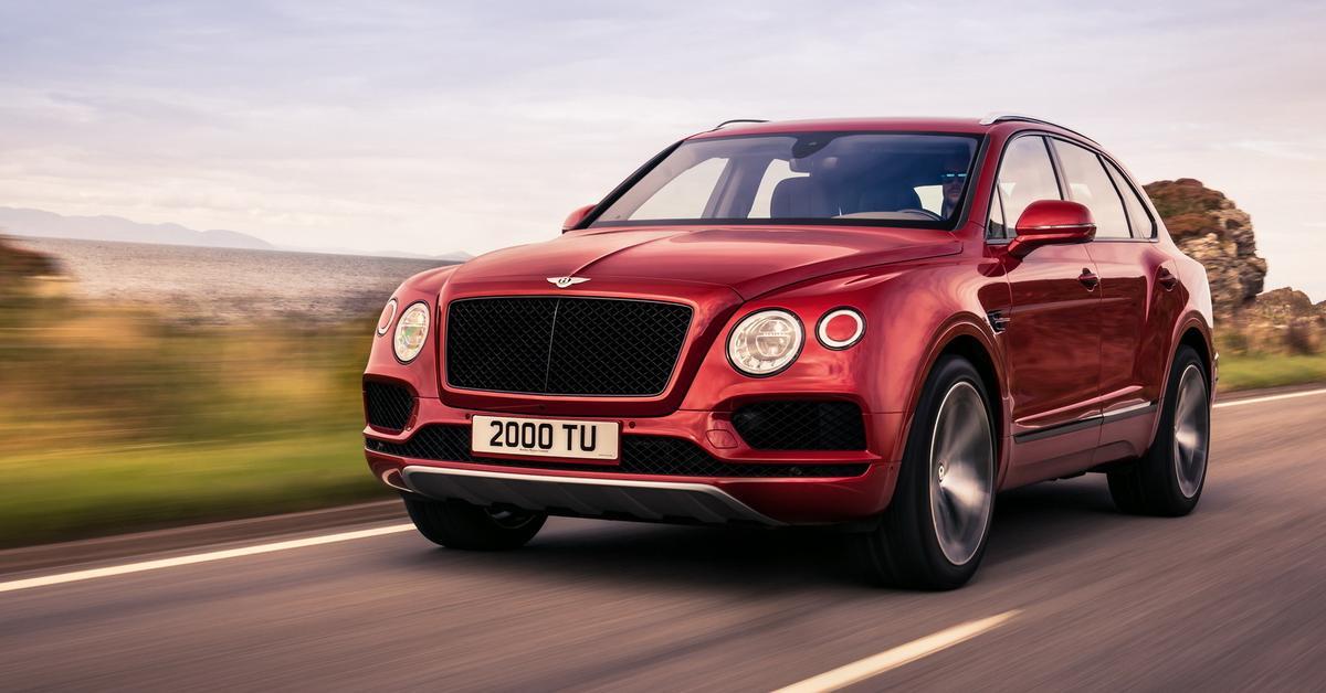 Bentley объявила о выпуске 20-тысячного кроссовера