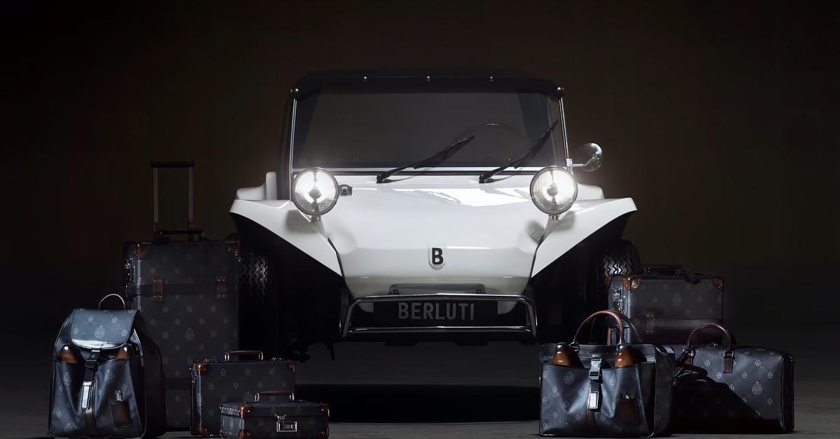 Модный дом Berluti выпустил собственный автомобиль