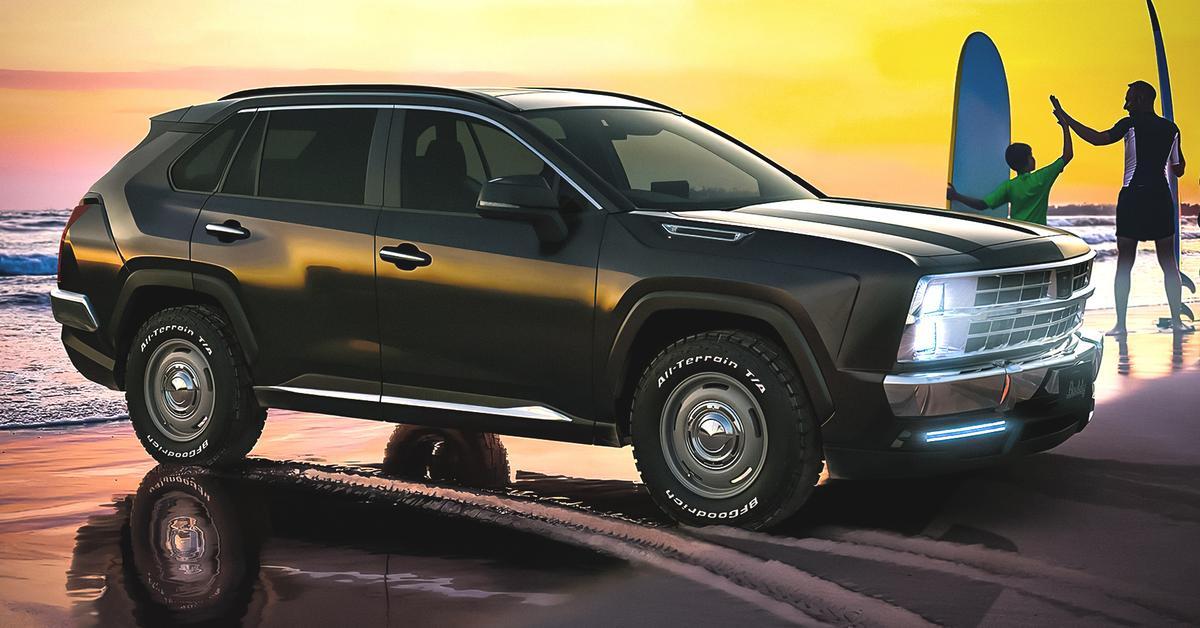 RAV4 «по-американски»: необычное преображение кроссовера Toyota