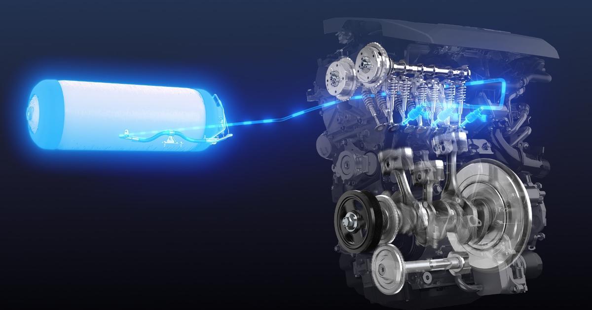 Toyota начала испытания двигателя внутреннего сгорания на водороде — Motor