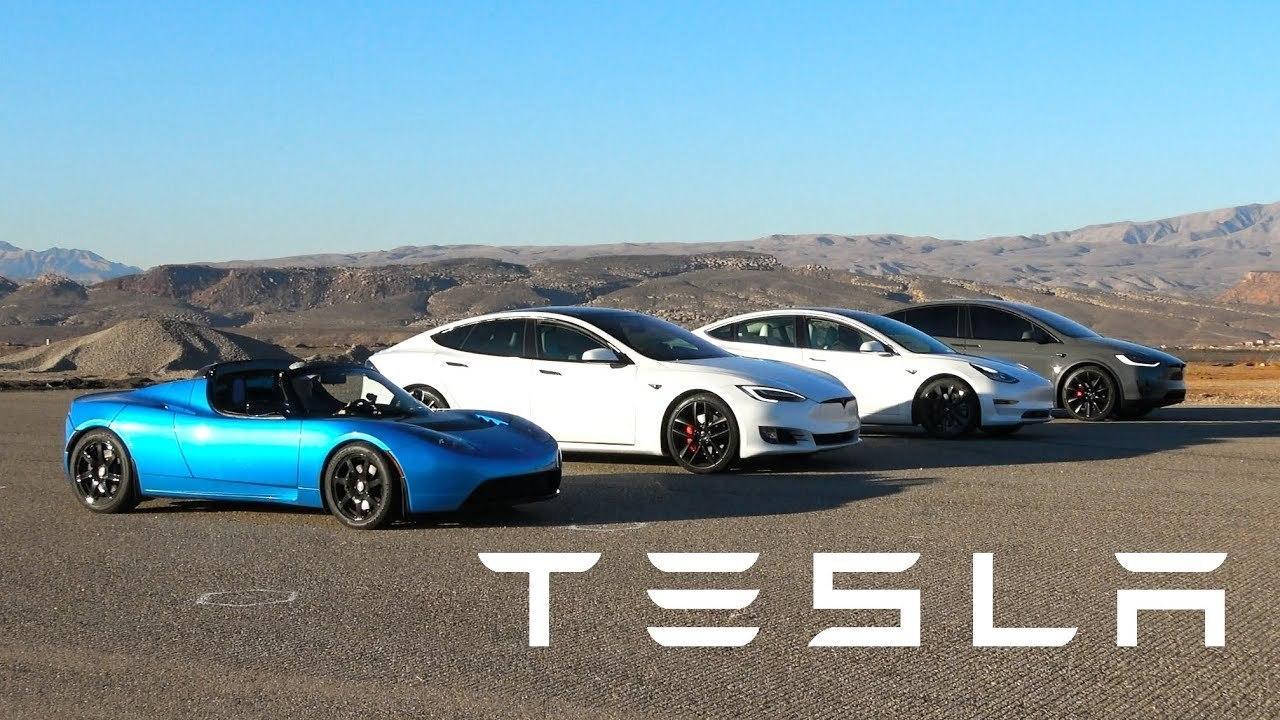 Видео: все модели Tesla сравнили в гонке по прямой — Motor
